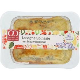 Lasagne spinazieblauwader vers