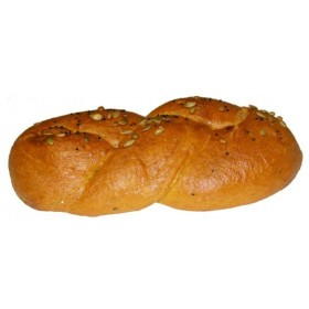 Pompoenvlechtbrood