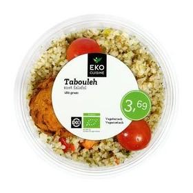 Tabouleh met falafel vers