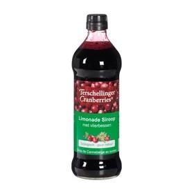 Cranberry-vlierbessensiroop