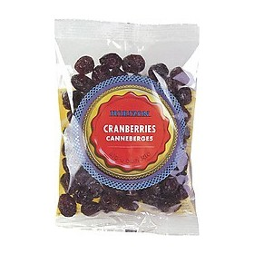 Cranberries gedroogd